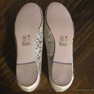 Melissa Sweet Shoes - 👰🏻 Bridal Shoes. Ivory Lace. Flats